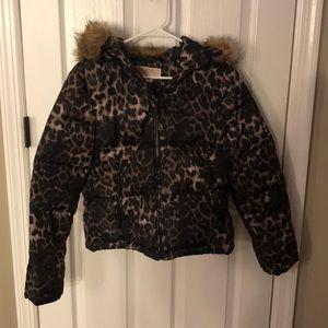 Michael Kors Leopard Jacket